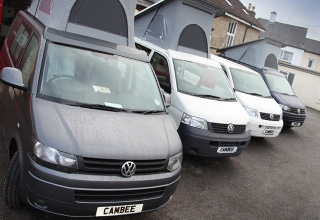 VW T5 and T6 campervans for sale UK