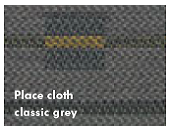 Place cloth classic grey