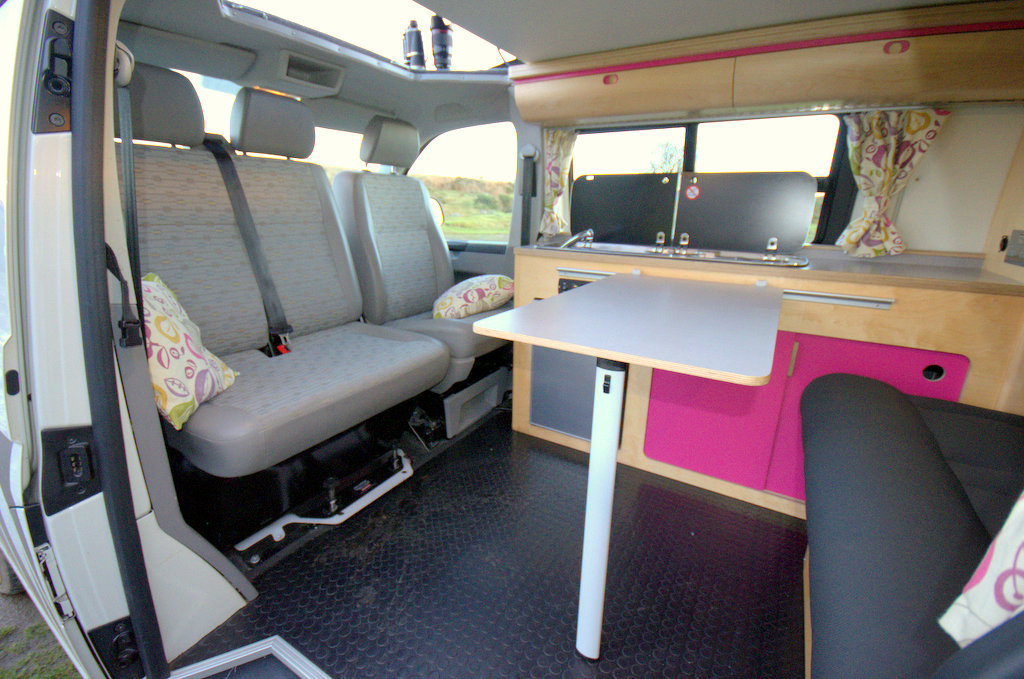 Beth & Tim's Classic Safari campervan