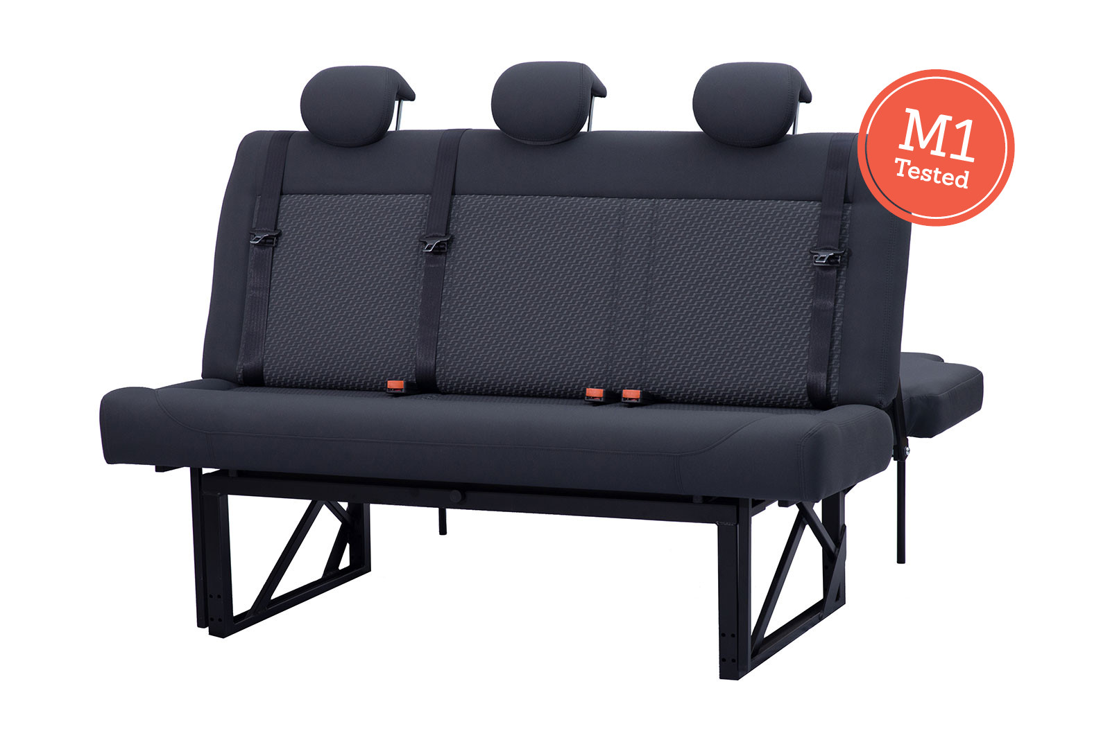 Cambee Flex 156 M1 rated with three seats