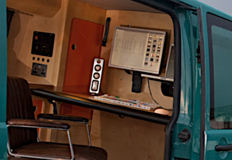 VW T5 & T6 mobile office campervan