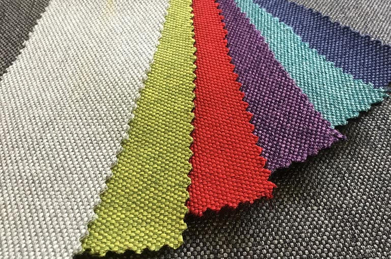 Campervan bed Musa colour swatches