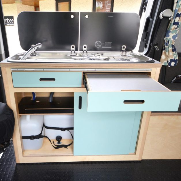 Maxi Pod Removable with doors and drawers open